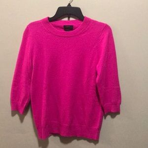 J. Crew Pink Cashmere sweater